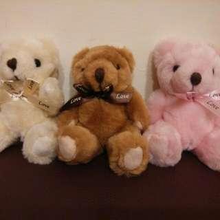 3隻小熊熊