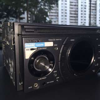 Double-din Sony Audio Player
