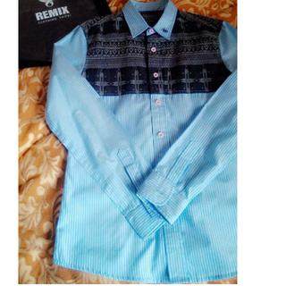 REMIX 10 AW F.M.S.P Shirt 民族風襯衫 size M
