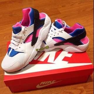 急售可議價)Nike Air Huarache 白藍紅武士 黑武士 女鞋 現貨