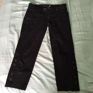 alldressedup Pants Black