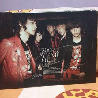 SHINee Year Of Us Mini Album (autographed by Taemin)