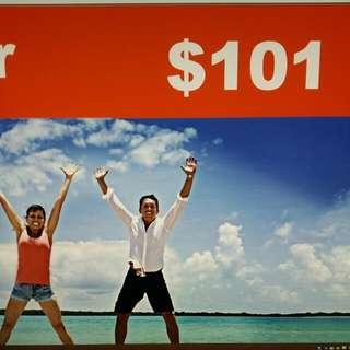 Jetstar $101 Voucher Book Any Flight Ticket