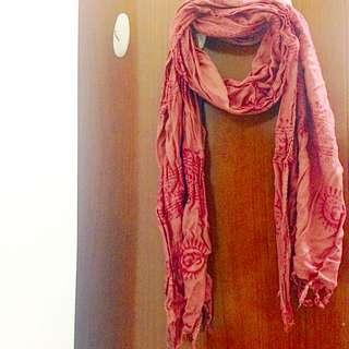 泰國購回✈️民俗風絲巾