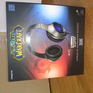 World Of Warcraft Gaming Headset