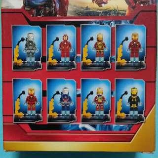 Minifigs Iron Man