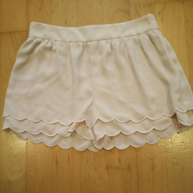 花邊小短褲