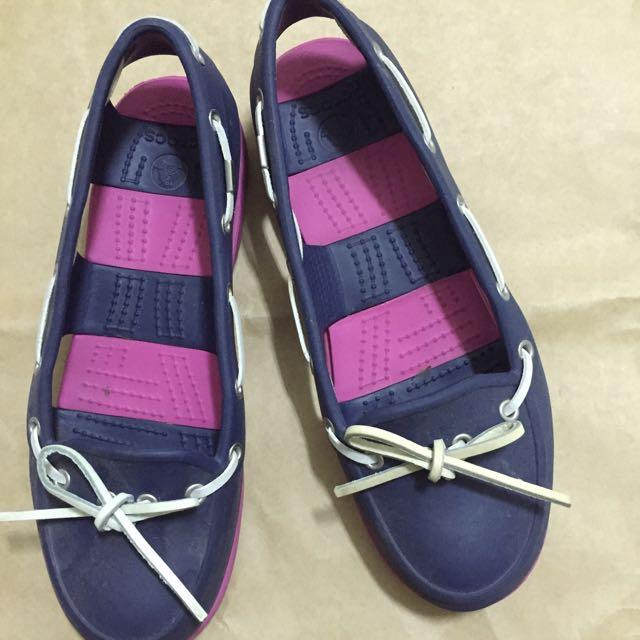 crocs🐊全防水帆船鞋W7