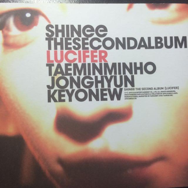 SHINee 二輯 Lucifer
