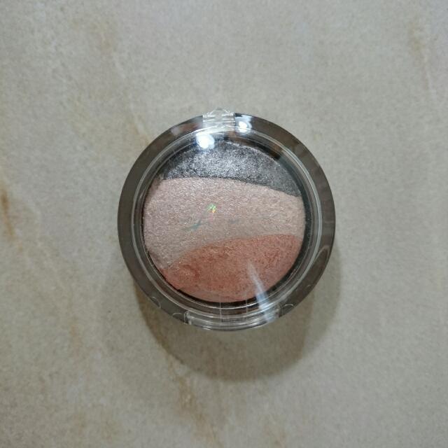 VOV立體3色眼影霜-灰粉橘