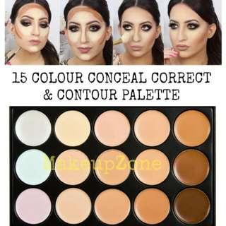 15 Colours Concealer Palette