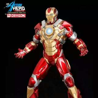 Brand New Dragon Action Hero Vignette Ironman Iron Man Heartbreaker