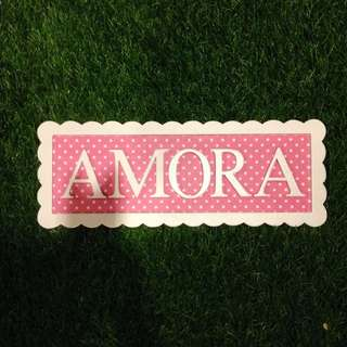 Personalized Name Board