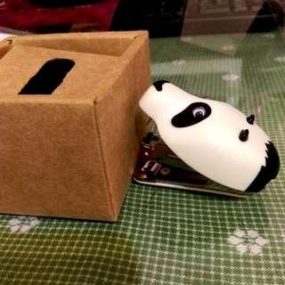 【全新】熊貓訂書機