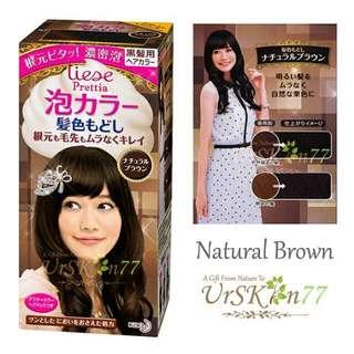 Liese Prettia Bubble Hair Color #Natural Brown