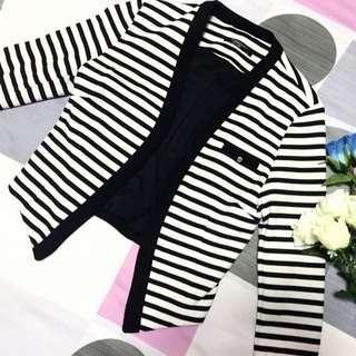 OSMOSE Striped jacket