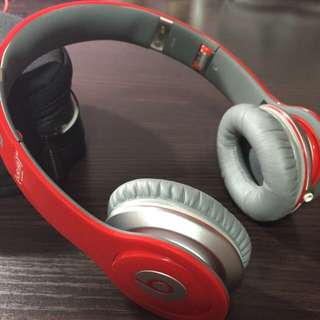 Beats By DR. DRE (solo hd) Red Limited Edition