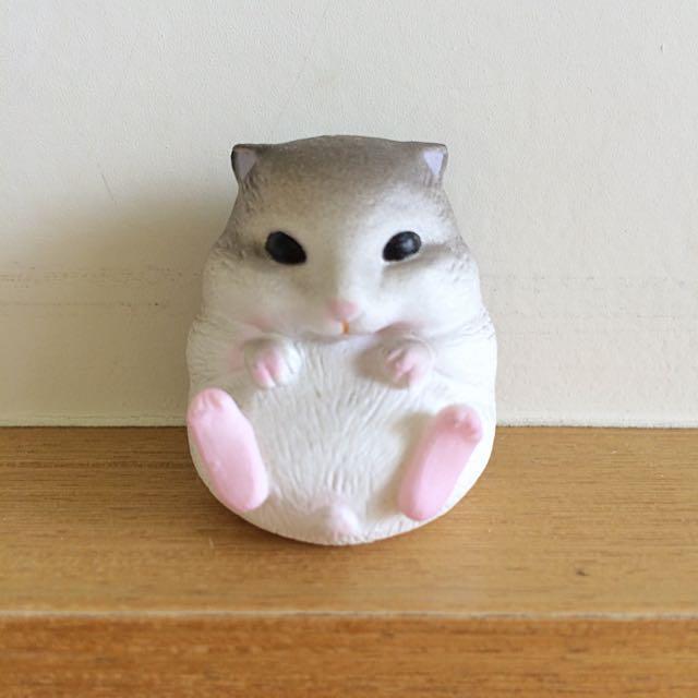 扭蛋-休憩的動物 老鼠