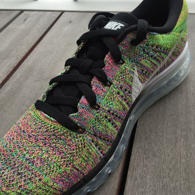 1d687bd9bfca NIKE    - Air Max Flyknit 2014 Multi-color