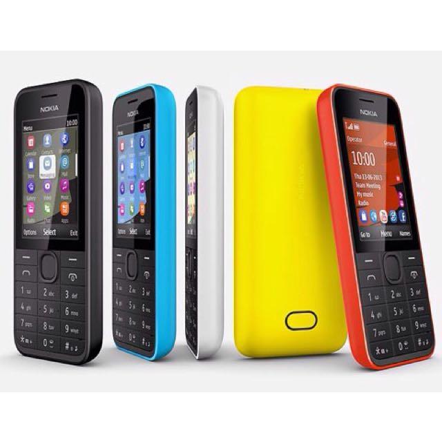 收 Nokia 207
