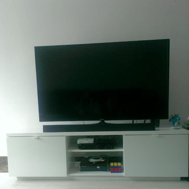 Betere Ikea BYAS TV Bench, Furniture on Carousell TX-72