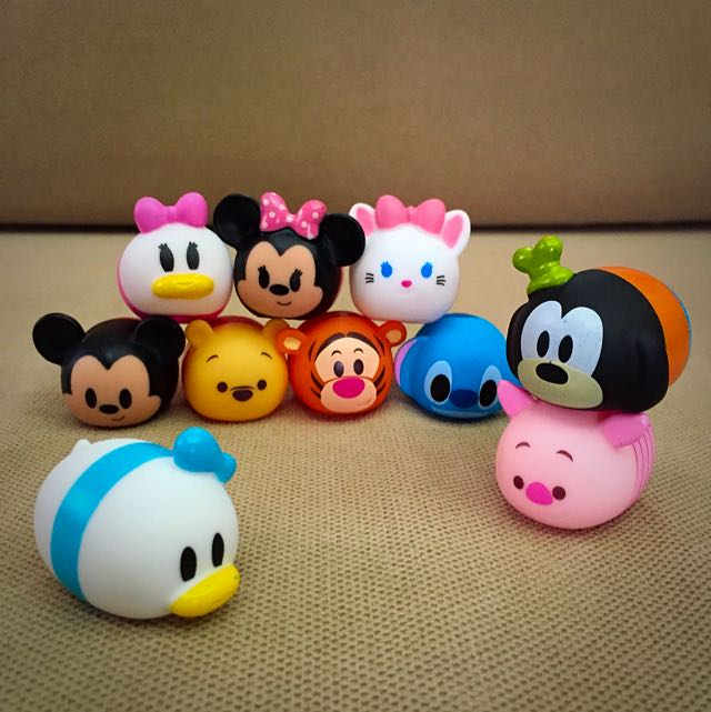 sold out tsum tsum rubber figurines toys games on. Black Bedroom Furniture Sets. Home Design Ideas