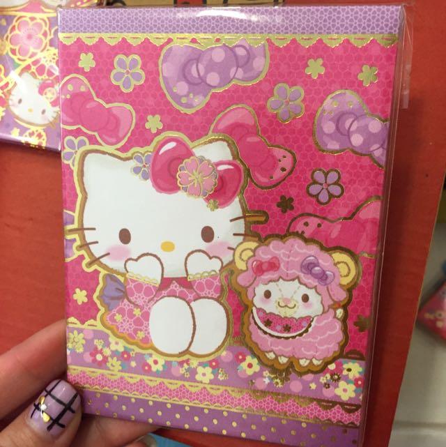 Kitty紅包袋 8入