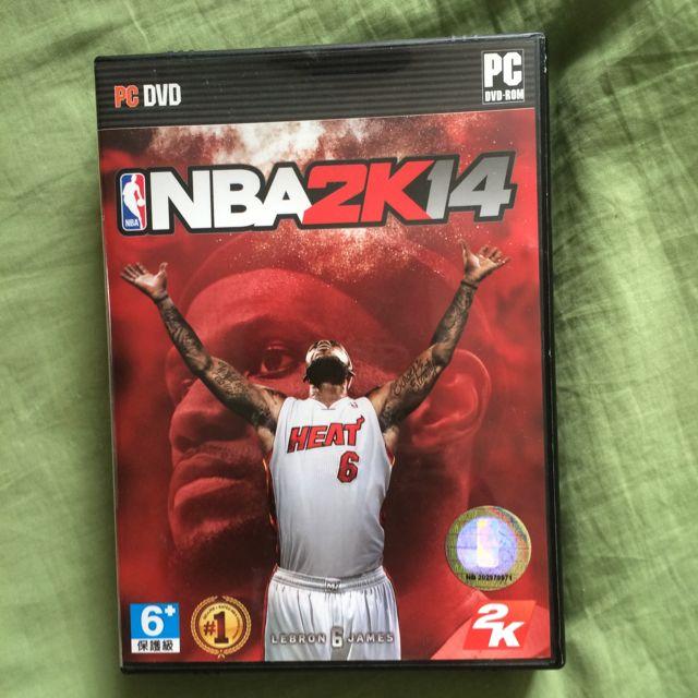 NBA2k14.  PC板 中文軟體,中文手冊