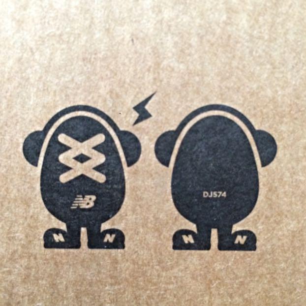 New Balance DJ574 Mini Speaker Blue Sneaker DJ