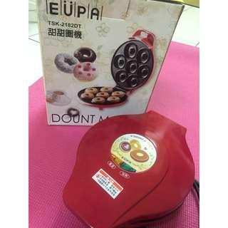 (含運)EUPA 甜甜圈機/鬆餅機 TSK-2182DT
