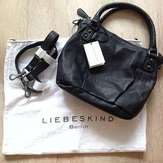 BN Liebeskind Leather Black Bag [Authentic]