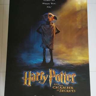 Harry Potter & The Chamber Of Secrets Original 1-sheet Movie Poster