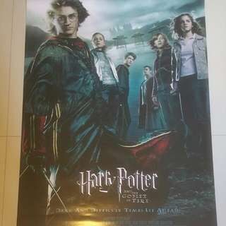 Harry Potter And The Goblet Of Fire Original 1-sheet Movie Poster
