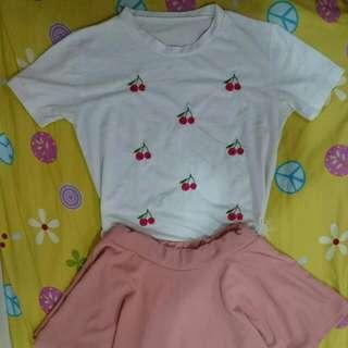 可愛櫻桃套裝