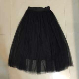 雙層網紗裙