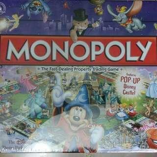 BN Monopoly Pop Up Disney Edition RARE