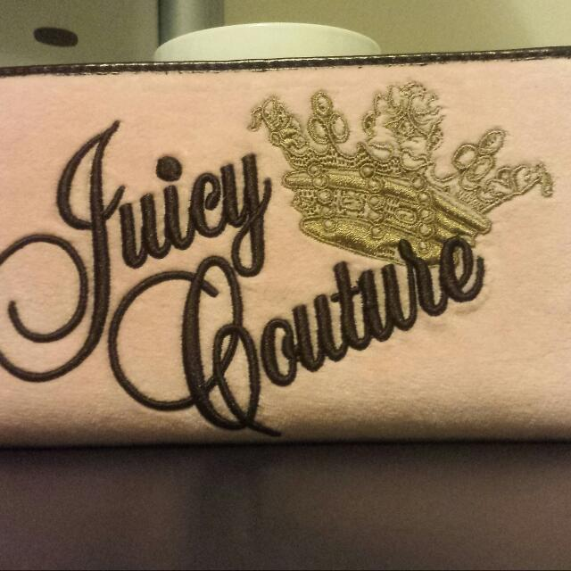 Authentic Juicy Couture Pink Wallet