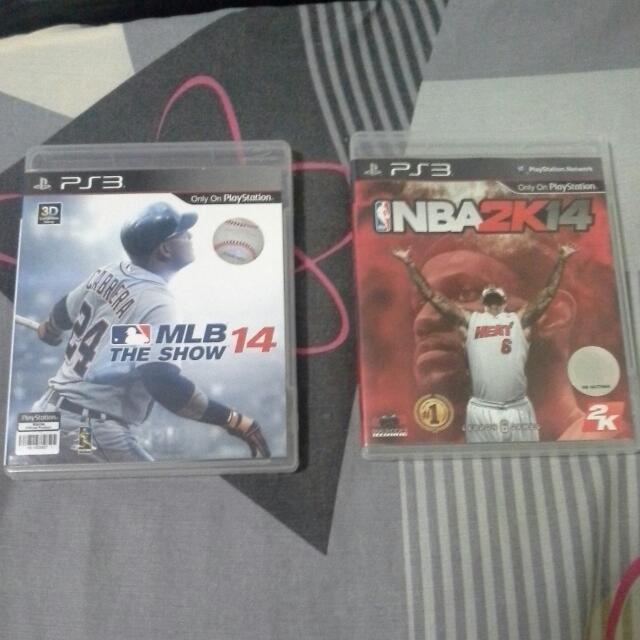 Nba 2k14 Mlb The Show 2014 Toys Games On Carousell