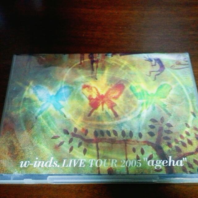 """【台壓】w-inds. Live Tour 2005 """"ageha"""""""