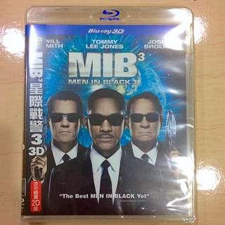 MIB星際戰警3 藍光DVD(正版)#新春五折