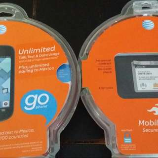 AT&T Prepaid Phone And Mobile Hot Spot Never Used