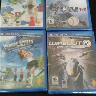 PS Vita Games brand New Never Opened