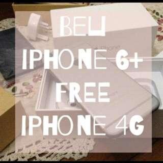 Iphone 6+ Second 16gb Free Iphone 4 Cdma