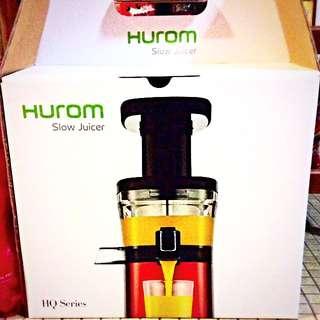 Hurom Slow Juicer HQ Series.