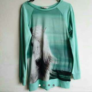 H & M Unicorn Sweatshirt
