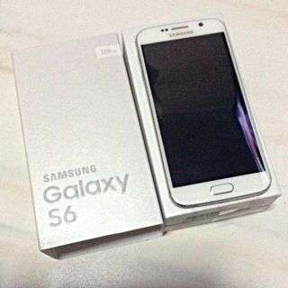 FOR SALE!! New Samsung Galaxy S6, 128GB, White