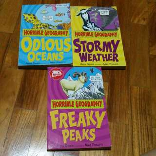 **Pending**Preloved Story Books  (Horribly Geography)
