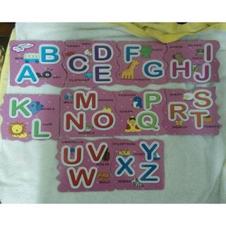 (全新) 幼福 Baby小拼圖-ABC (無外盒) 原價160元 新品出清價85元