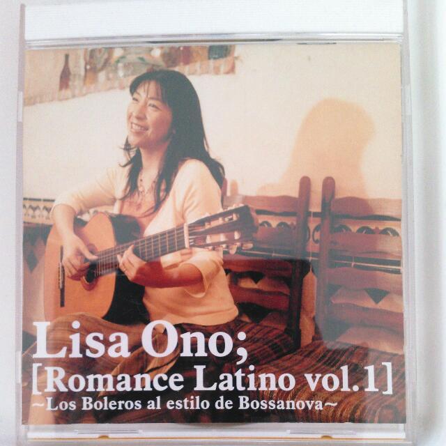待交易☆[二手] 小野麗莎 Lisa Ono;Romance Latino vo1.1