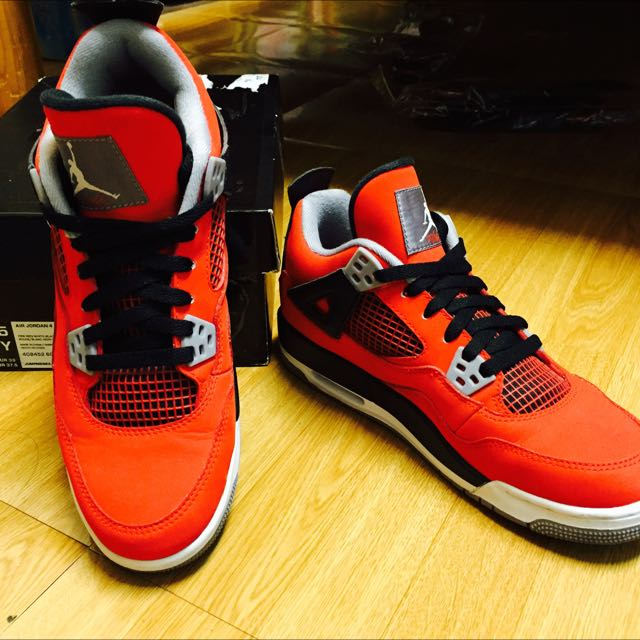 Air Jordan 4 紅色女鞋